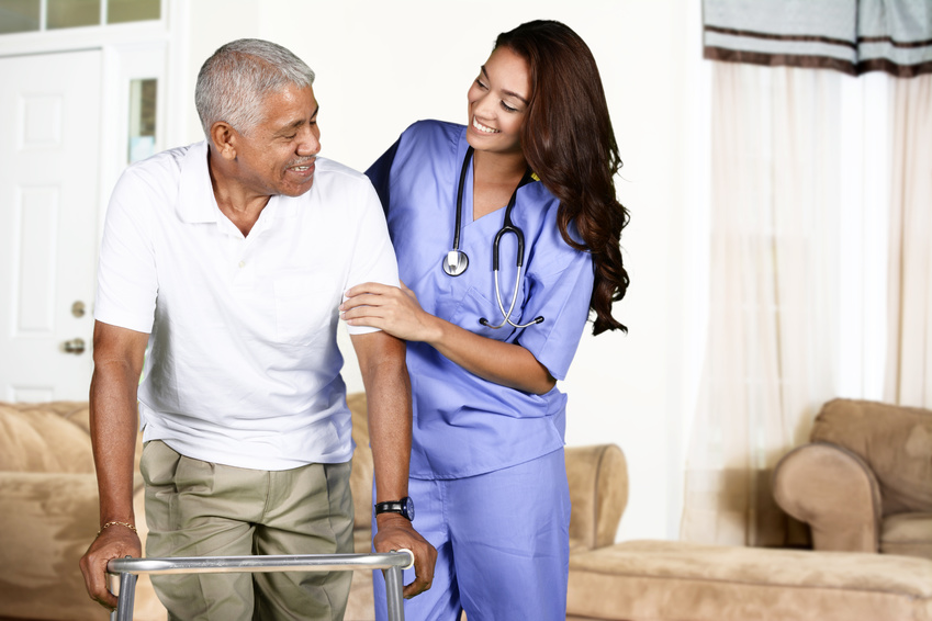 Senior home health care service