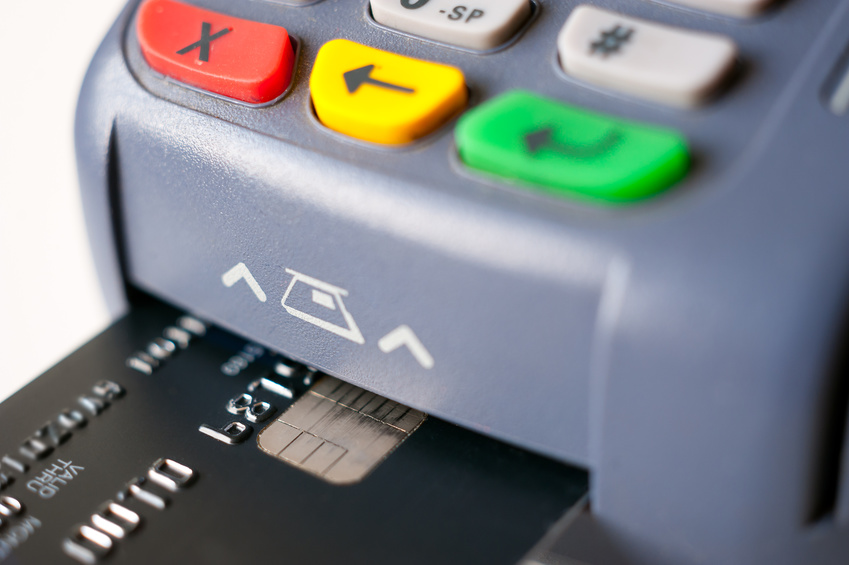 Business credit card machines