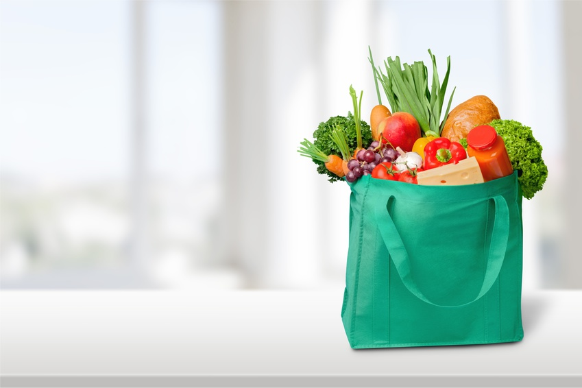 Reusable grocery bags bulk