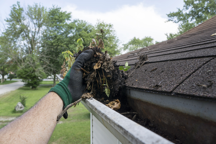Home gutter cleaning cincinnati
