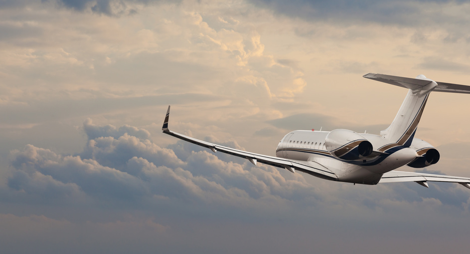 Executive private jet