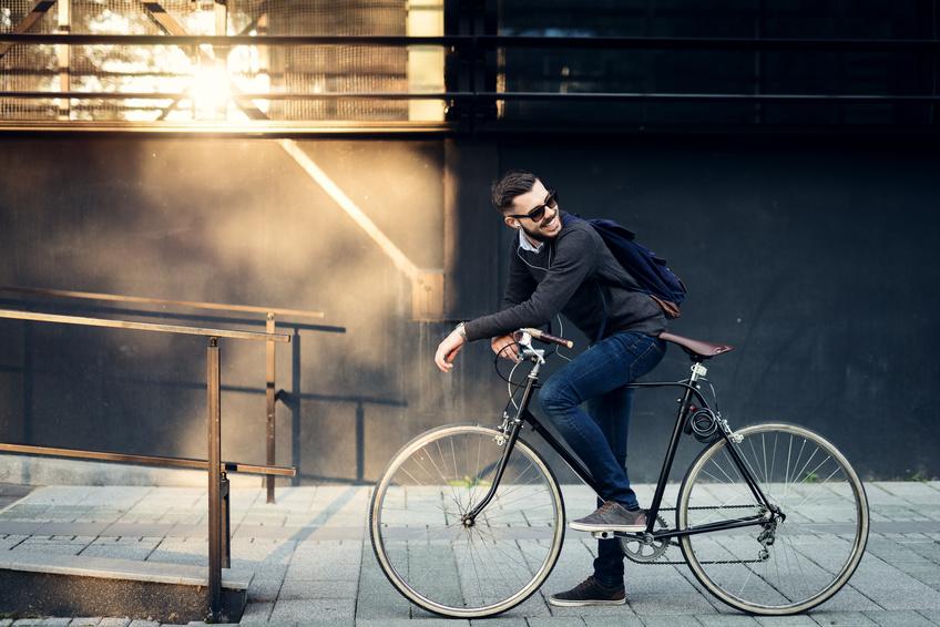 Leather bike saddles