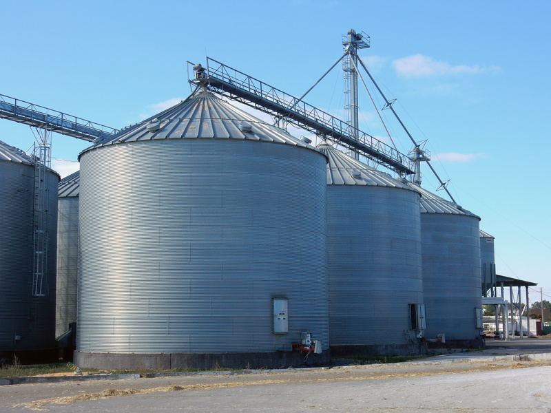 Types of grain storage