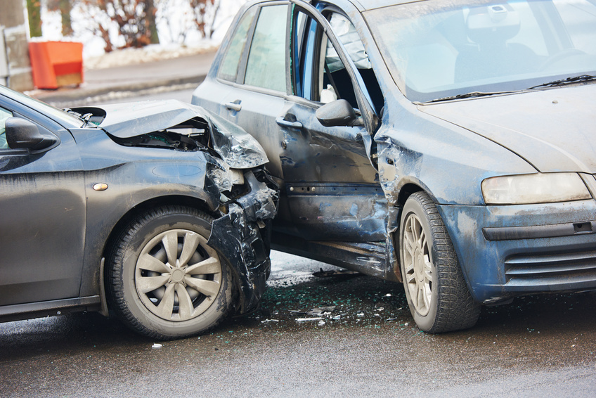 Injuries from a car accident