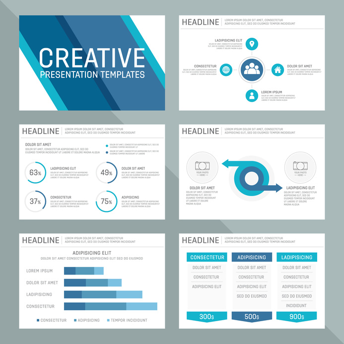 Business presentation design services