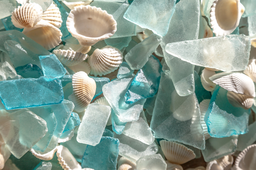 Sources of Sea Glass Earrings Based on Colors