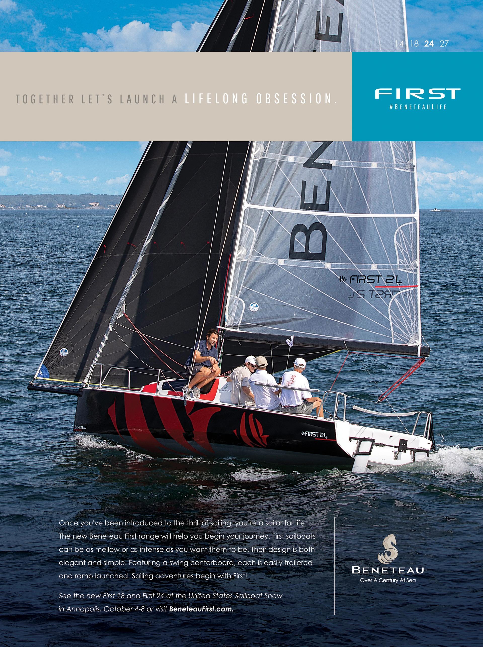 Beneteau Sail Ads 2017