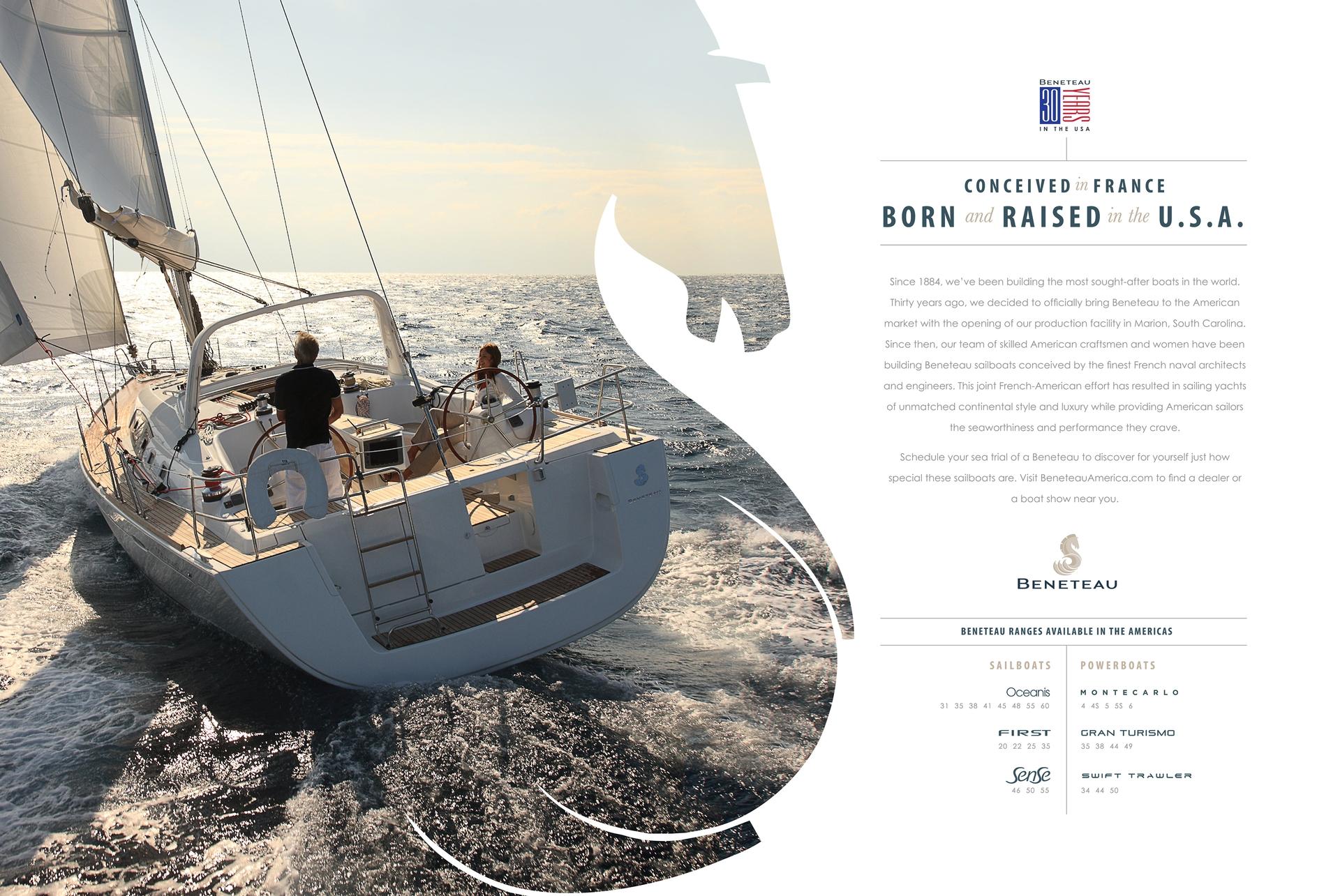 Beneteau Sail Ads 2015