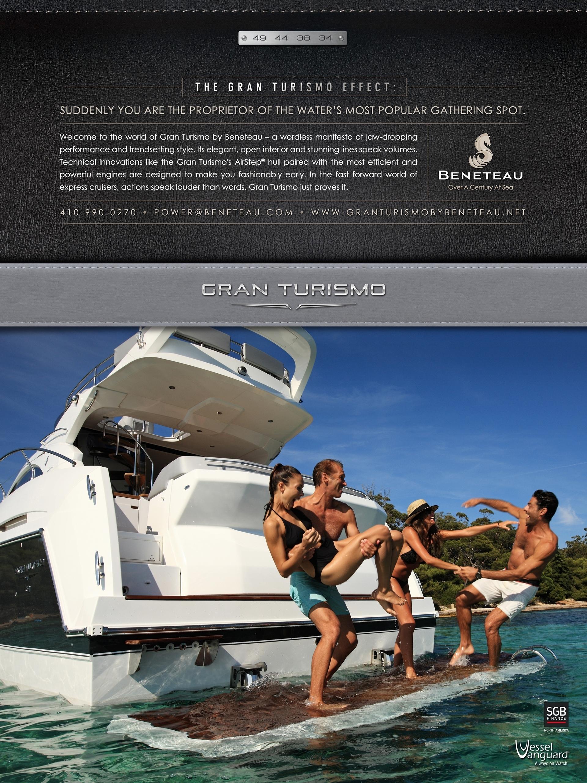 Beneteau Gran Turismo Ads 2014