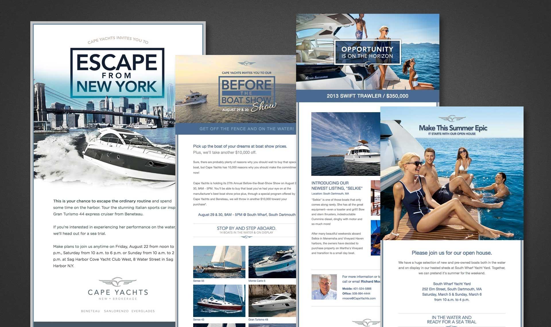 Cape Yachts eBlasts