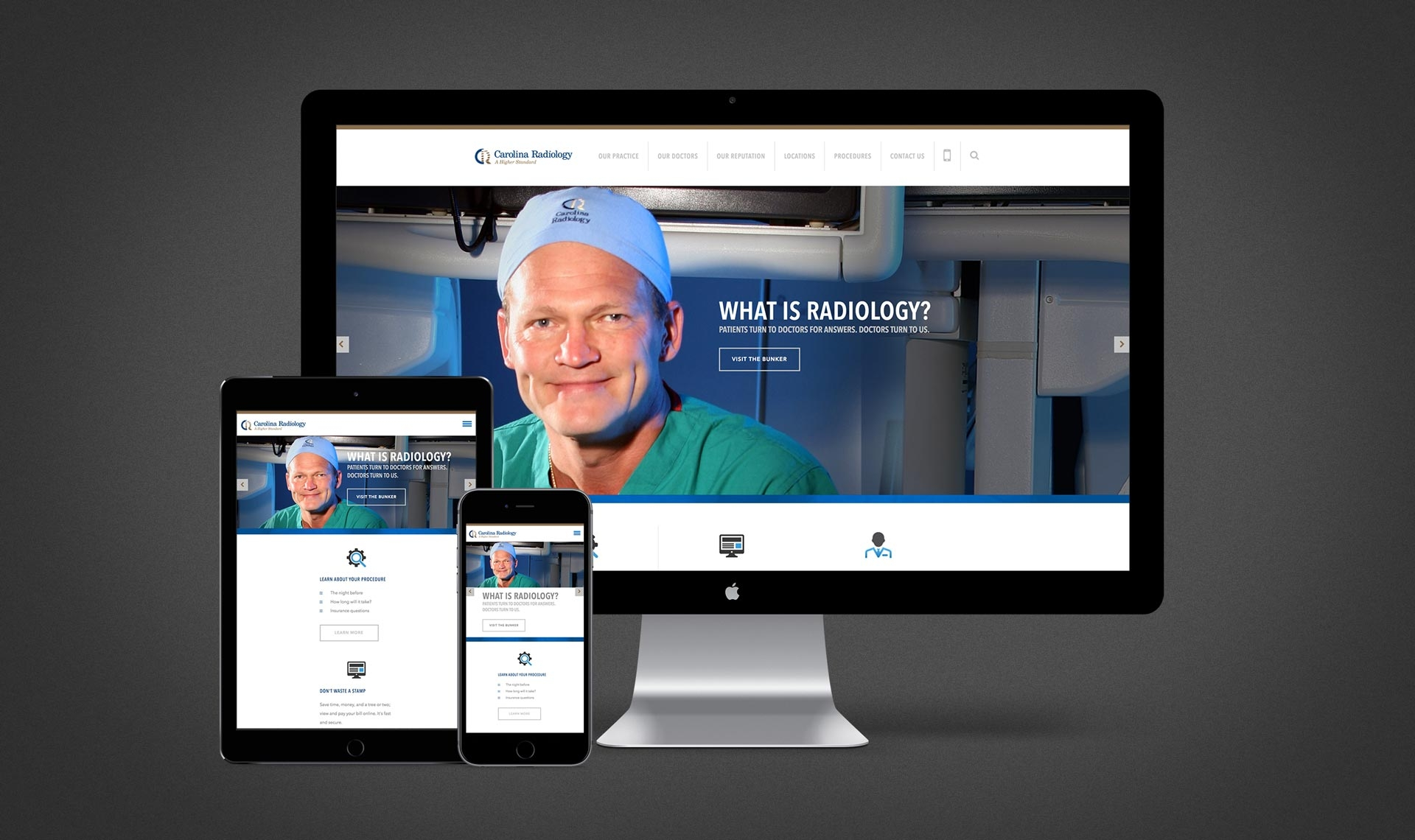 Carolina Radiology Website 2.0