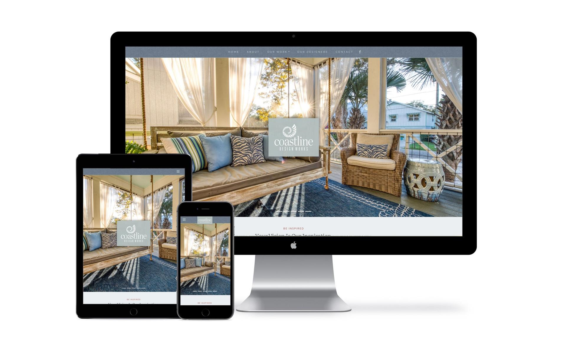 Coastline Design Works Website