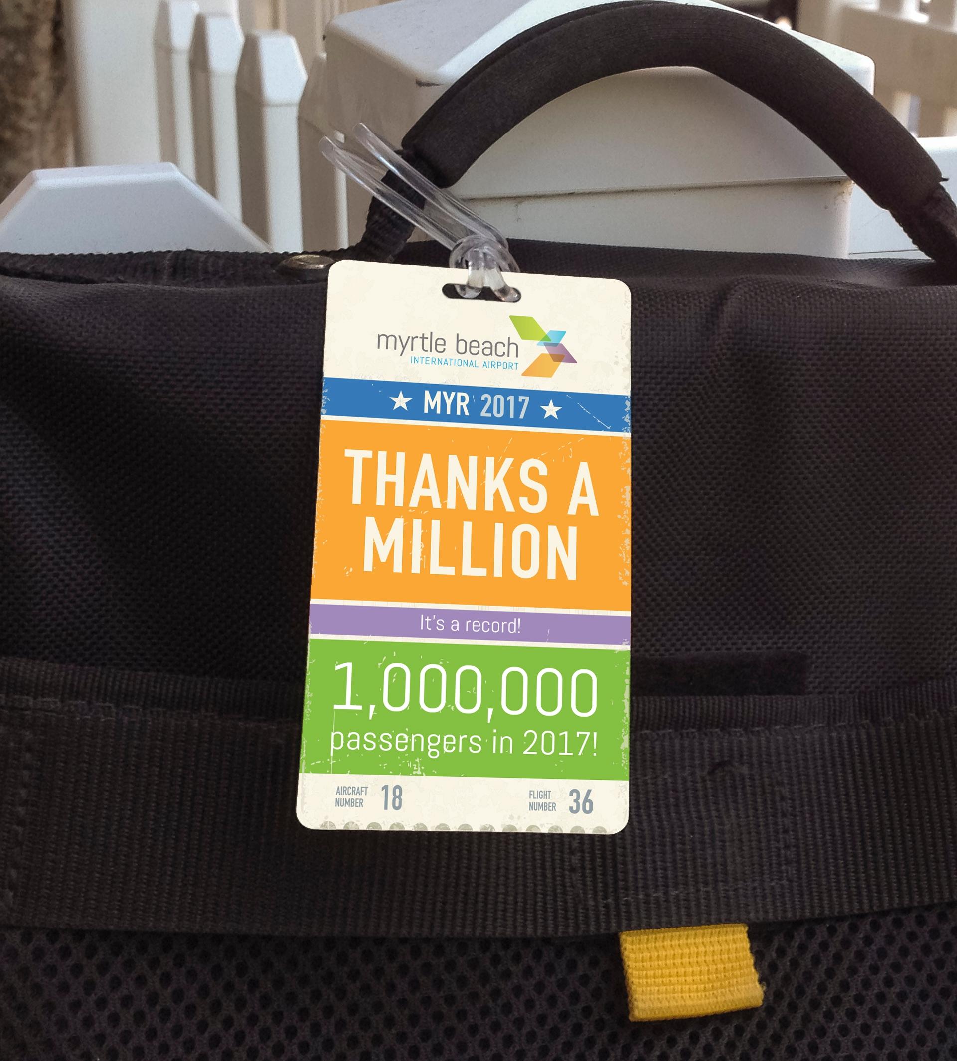 MYR Millionth Passenger