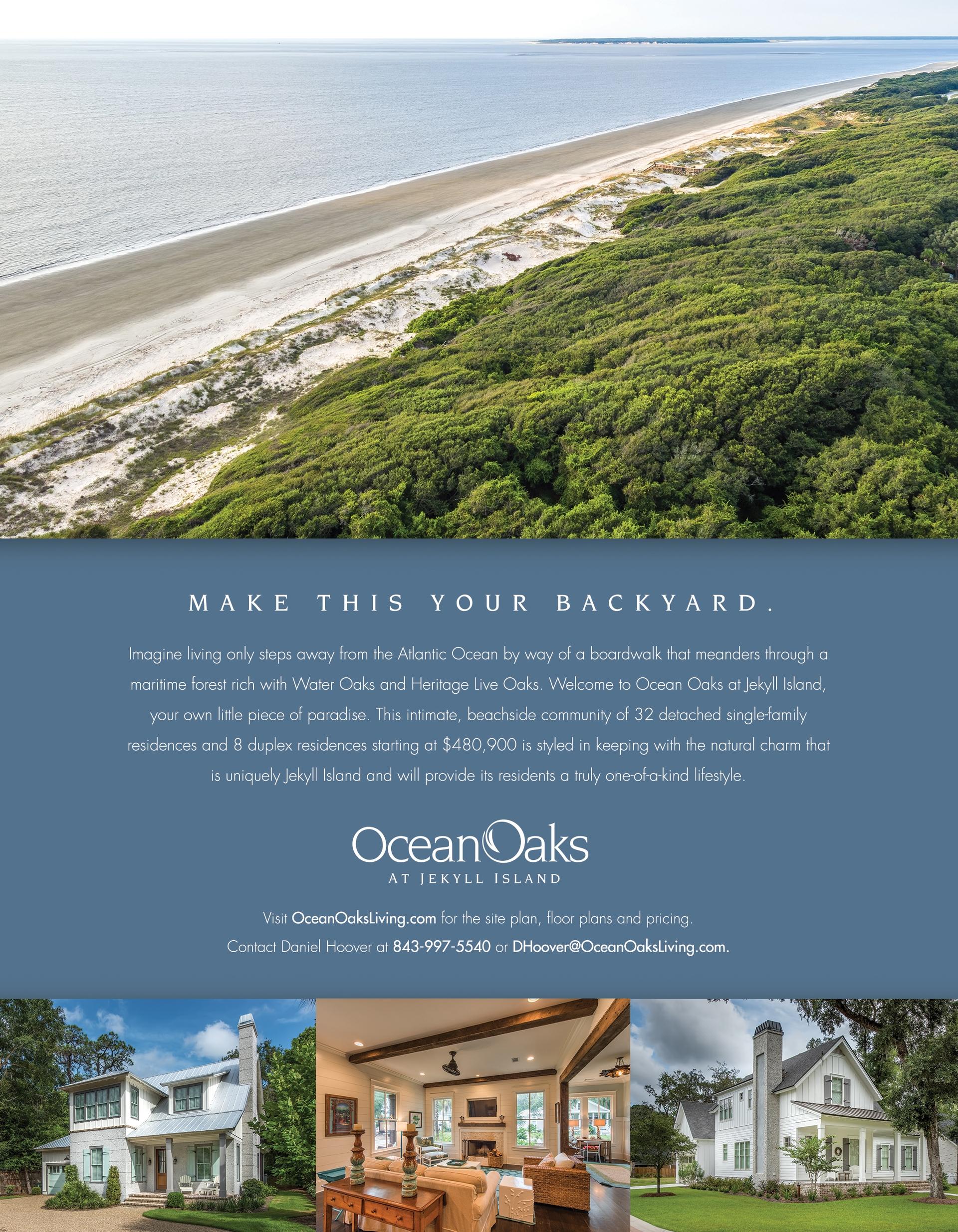 Ocean Oaks Print Advertising