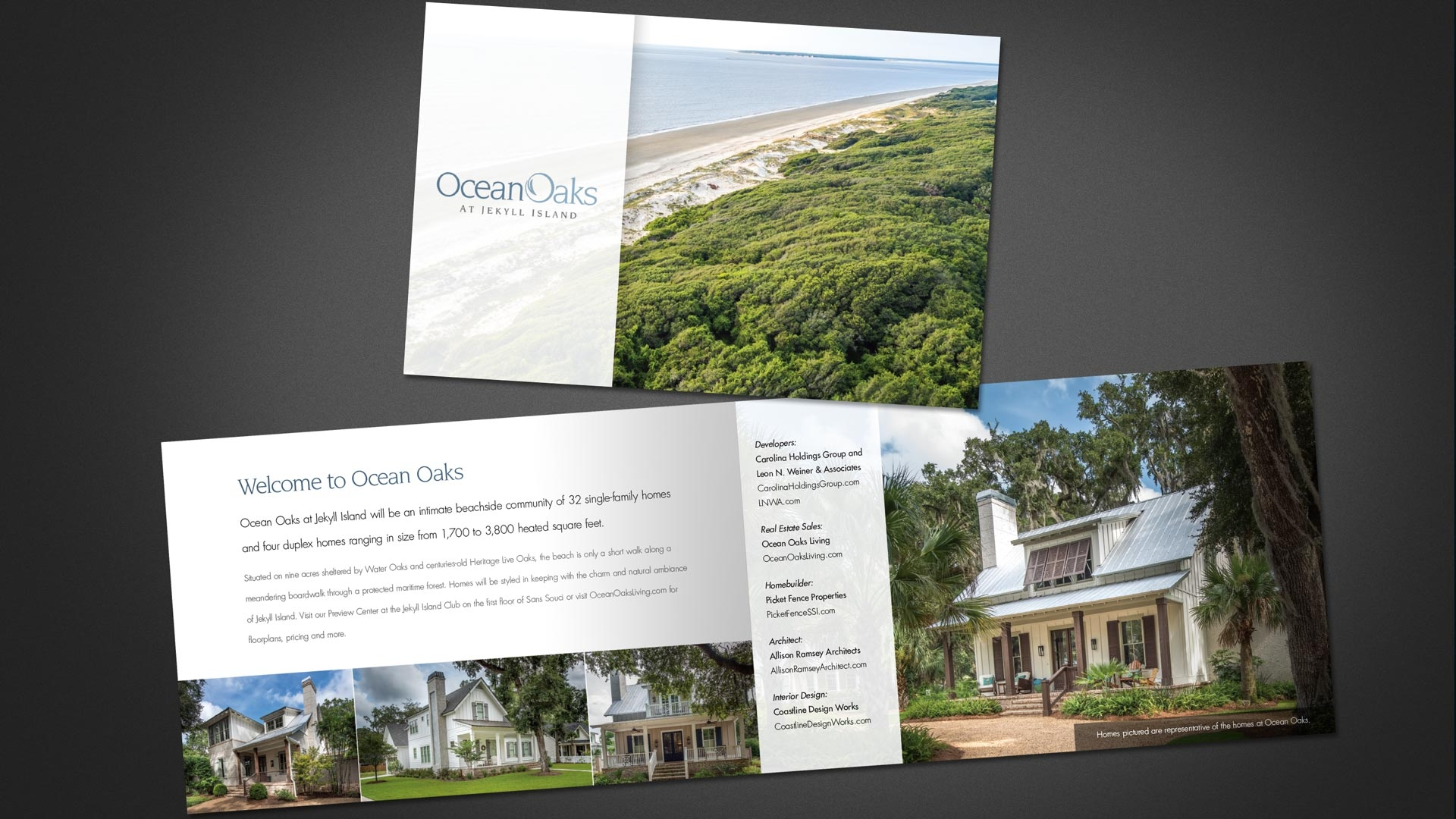 Ocean Oaks Printed Materials
