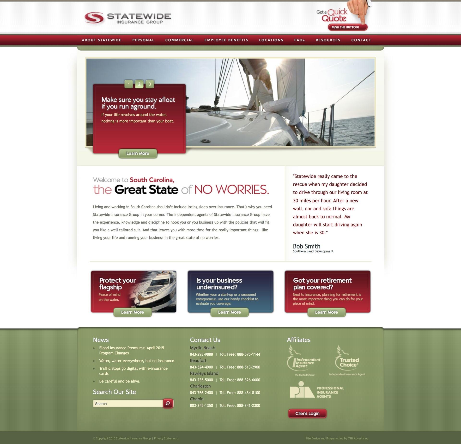 Statewide Insurance Website