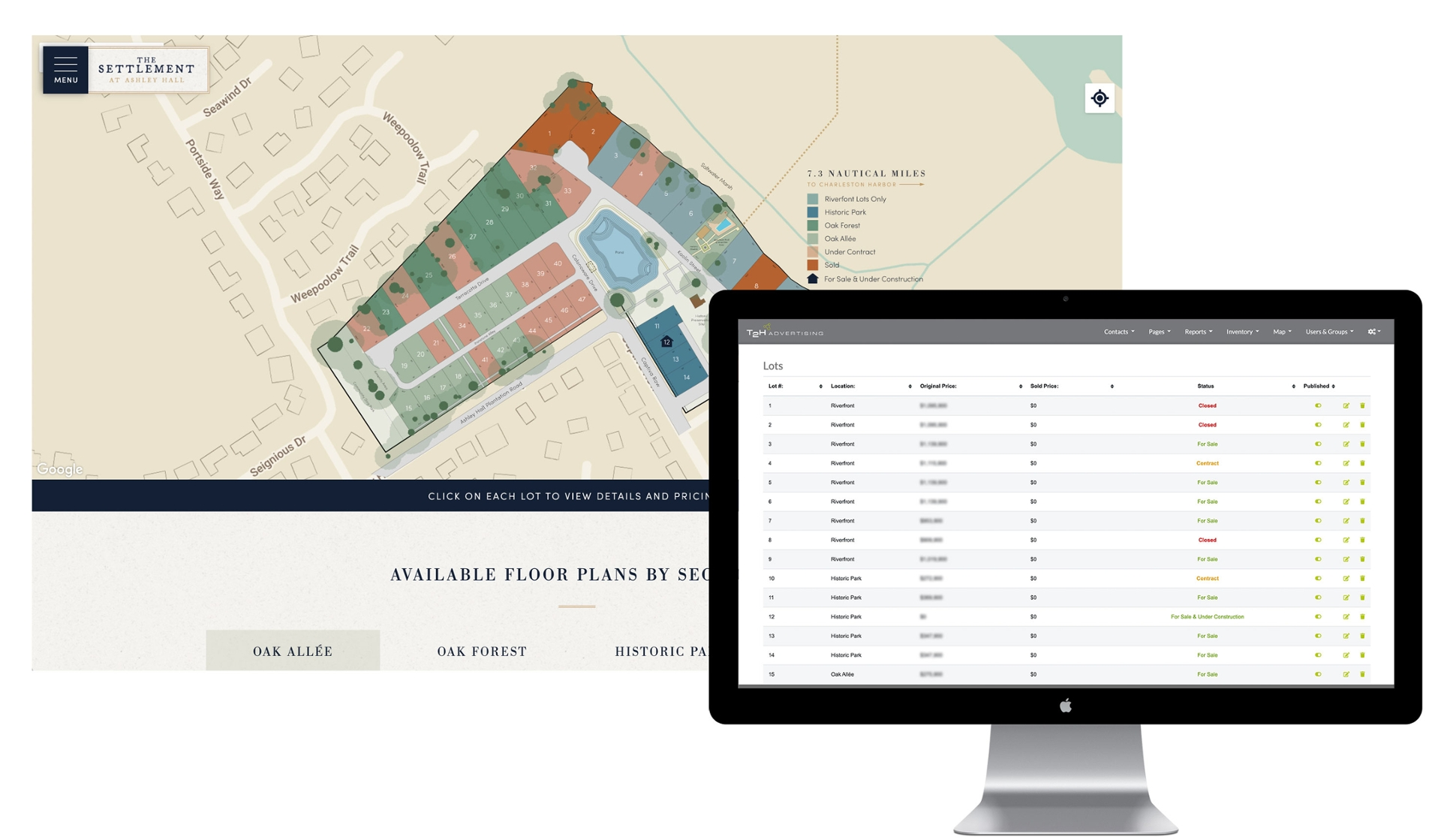Lot / Home Inventory System