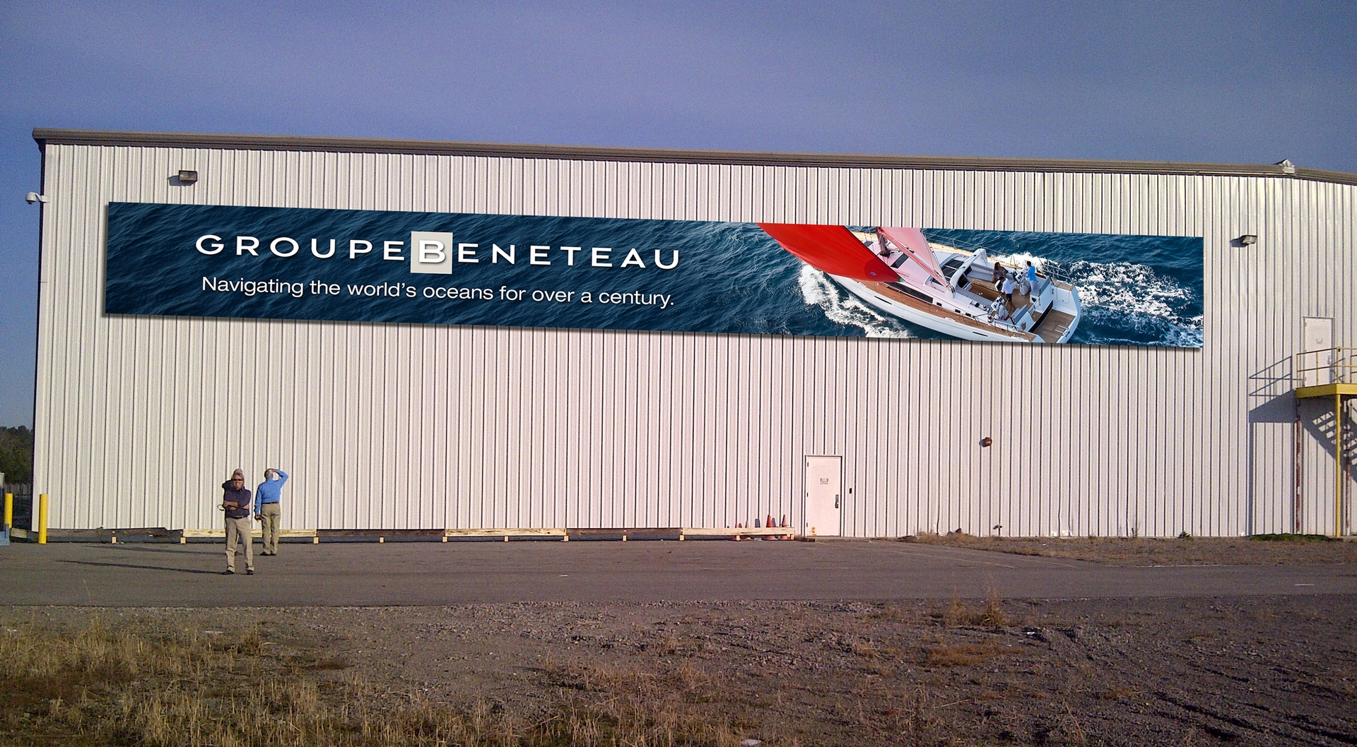 Banners for Beneteau's Facility in Marion, SC