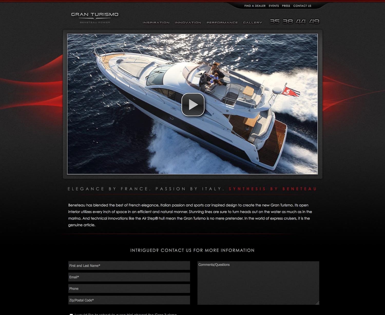 Flyer Gran Turismo Micro Site