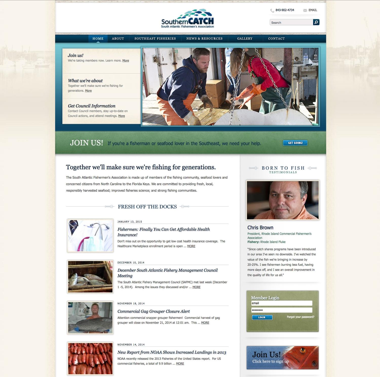 Southern Catch Website