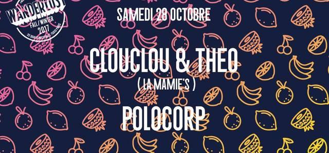 Clouclou & Theo (La Mamie's) & Polocorp