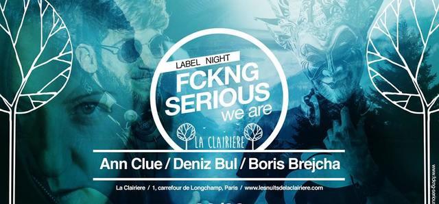 FCKNG Serious : Boris Brejcha x La Clairière