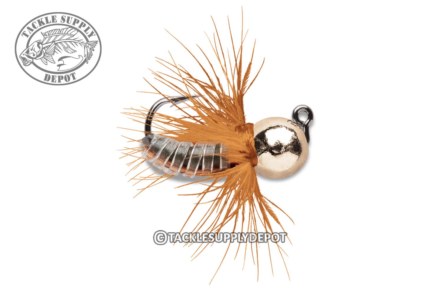 VMC Tungsten Fly Hair Jig Panfish Crappie Trout 1//16oz 2pk Pick
