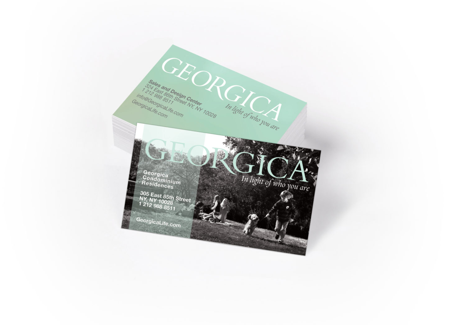 Georgica Biz Cards Slideshow