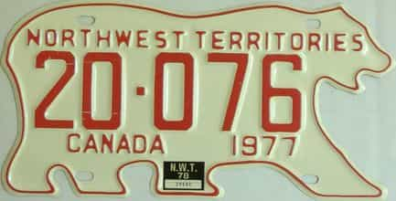 1978 NWT license plate for sale