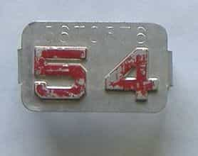 1954 Montana (Single) license plate for sale