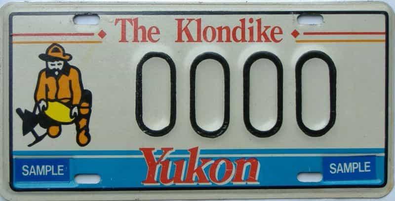 Yukon (Sample) license plate for sale