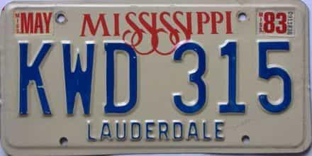 1983 Minnesota license plate for sale