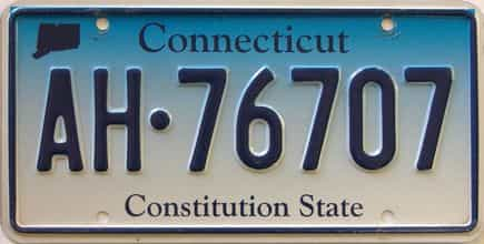 Connecticut license plate for sale