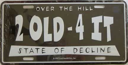 Miscellaneous license plate for sale