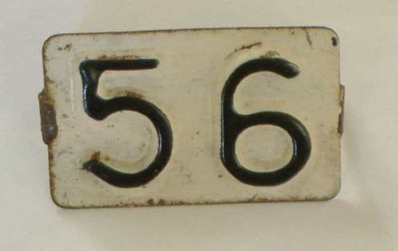 1956 RI license plate for sale