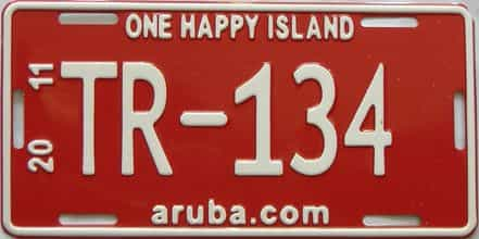 2011 Foreign license plate for sale