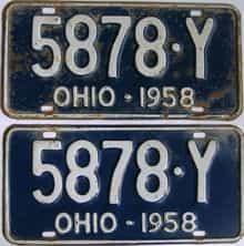 1958 OH (Pair)