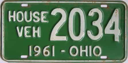 1961 OH (Non Pass)