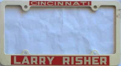 Miscellaneous  (Plastic) license plate for sale