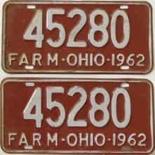 1962 OH (Non Pass)