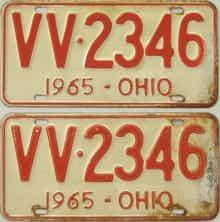 1965 OH (Pair)