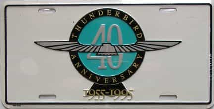 1955 Miscellaneous license plate for sale