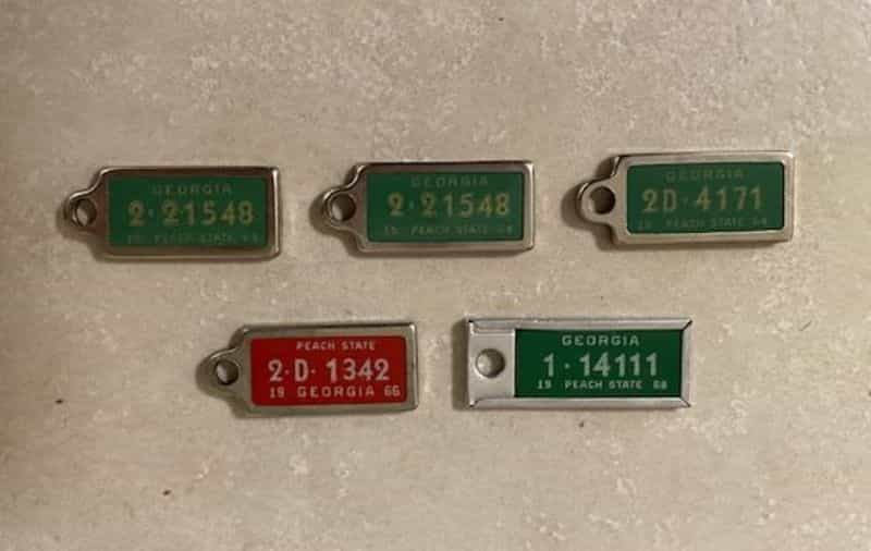 1964 Miscellaneous license plate for sale