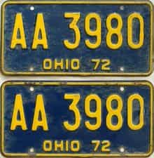 1972 OH (Pair)