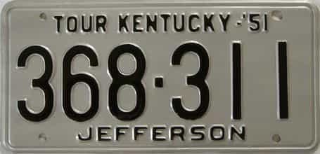 RESTORED 1951 KY