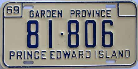 1969 CANADA (PEI)