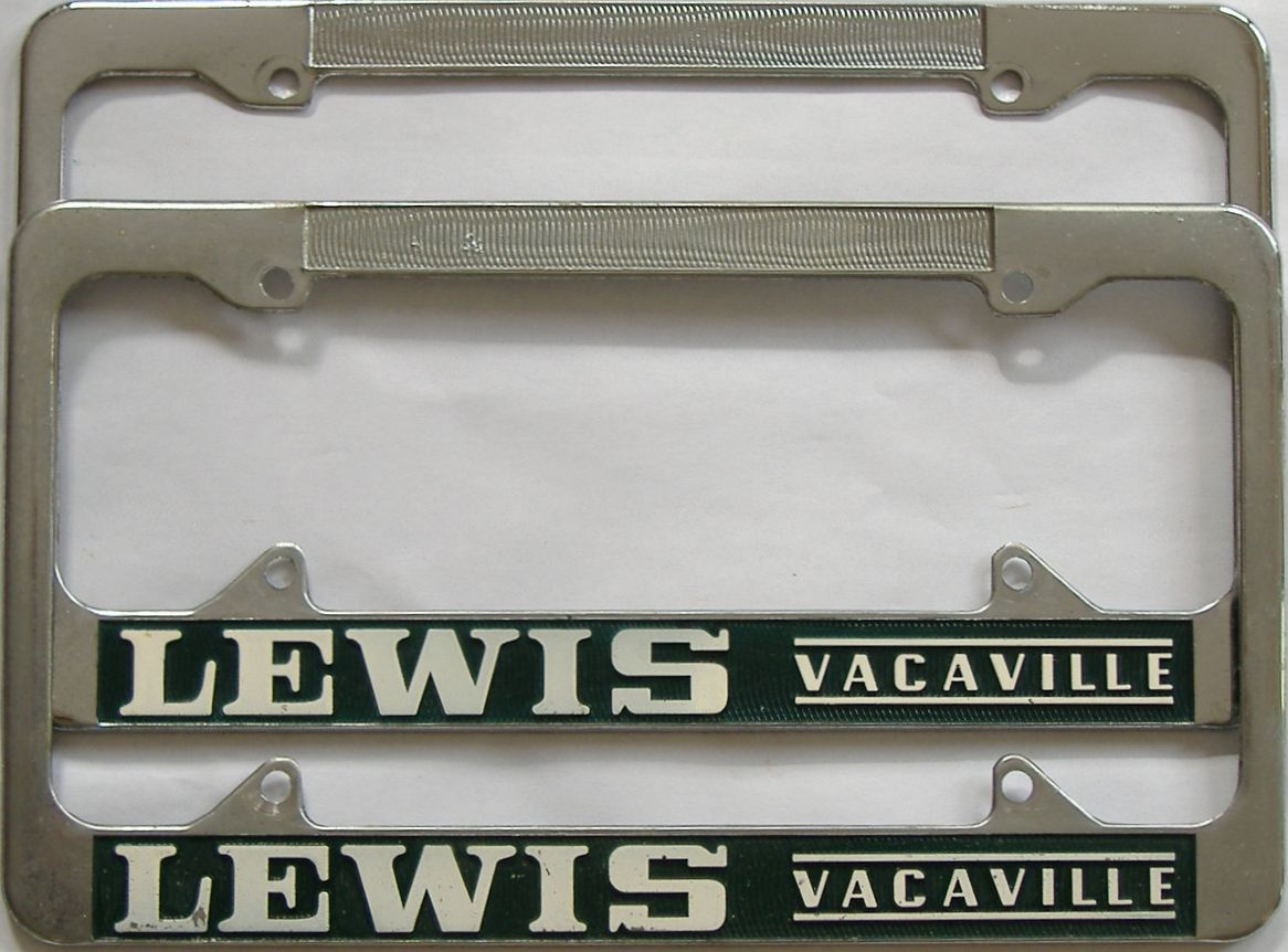 1963 California (Pair) license plate for sale