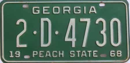 YOM 1968 GA