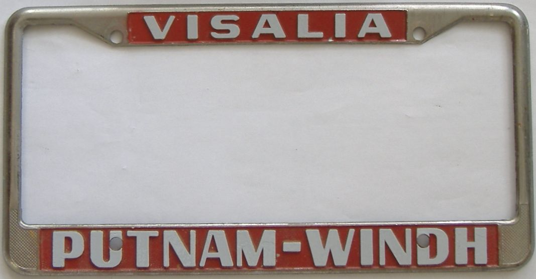 1963 California (Single) license plate for sale