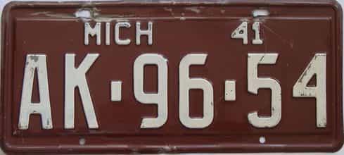 1941 MI (Single)